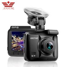 ANSTAR 4 K Dash Cam 2880*2160 WiFi Car Dvr Registratore di Visione Notturna Dashcam Veicolo A Doppia Lente Posteriore Della Macchina Fotografica costruito nel GPS Videocamera