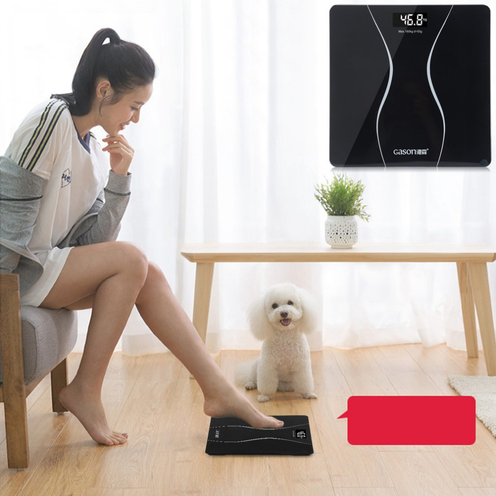 New A2 High Precision LCD Display Household Bathroom Body Scales Electronic Digital Floor Weight Balance Scales hot search