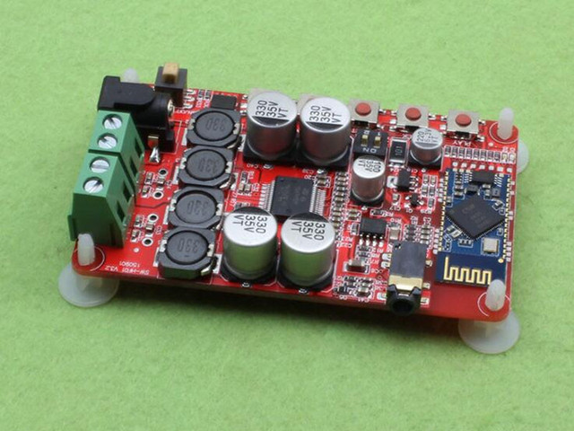 Sem fio Bluetooth 4.0 Receptor De Áudio TDA7492P 50 W + 50 W Amplificador Digital Board Frete Grátis