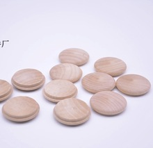 100Pieces/Lot  Diameter: 30mm Honeysuckle Staircase Wood Cover Decorative Hole Screw Furniture Fittings