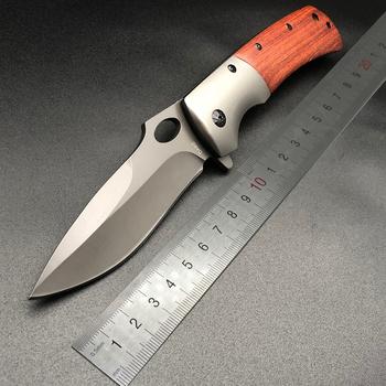 BMT DA62 DA43 DA51 5Cr13MOV ostrze nóż składany kieszonkowy taktyczne Survival EDC nóż odkryty polowanie bojowy nóż turystyczny narzędzie tanie i dobre opinie Obróbka metali Składany nóż BMT DA62 DA43 DA51 217 338 339 229 Knives Drewna FIRE MOUNTAIN Utility Knife steel + rosewood