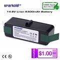 SPARKOLE nueva versión 5.3Ah batería de Li-Ion de 14,8 V para iRobot Roomba 500, 600, 700, 800 Series 510, 530, 550, 560 620, 630, 650, 880, 770, 780