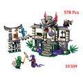 Ninjagoed Marvel Bloques Huecos de Phantom Ninja Juguetes de Acción Ninjagoed Ladrillo Modelo Legoe Compatible