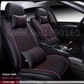 Cuero del asiento de coche especial cubre para Todos Los Modelos de Lexus GX460 GX470 GX400 conjunto de coches cojín asientos soporta reposacabezas