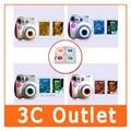 Colorido Filtro de Primer Plano de La Lente 4 Colores Para Fujifilm Instax Mini 7 S Cámara de 8