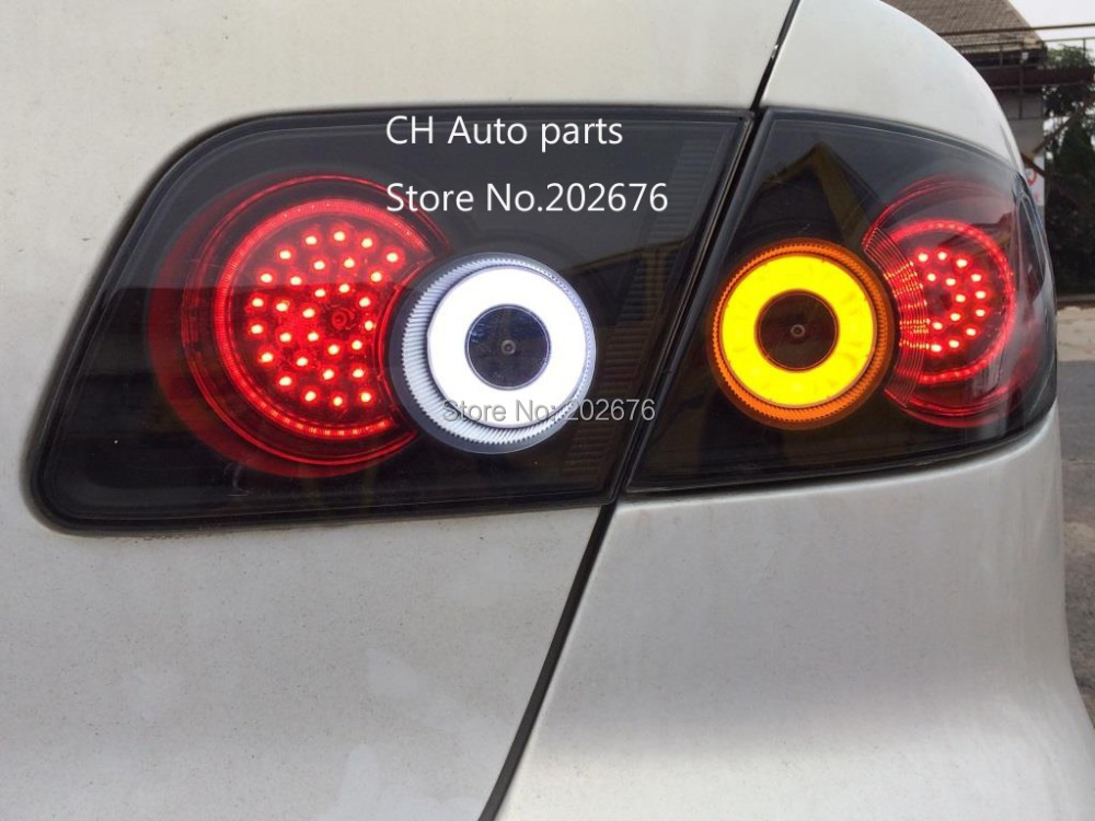 FREE SHIPPING , DLAND 2006 2016 MAZDA6 MAZDA 6 LED TAIL LIGHT/REAR LAMP ASSEMBLY V4, TYPE ECLIPSE
