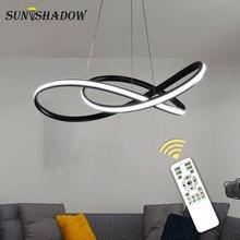 Lustre LED moderne pour salon salle à manger chambre Luminaire Design LED créatif lustre luminaires lampe suspendue