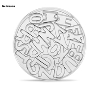 26 English Alphabet Mini Cookie Cutter Stainless Steel Biscuit Mold DIY Baking Tools