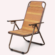 Folding chair recliner lunch nap mats beds for the elderly outdoor leisure beach lazy chairs