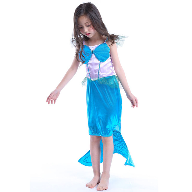 Baby Mädchen Kleinkinder Kinder Kleid Kinder Ariel Kind Mermaid eine ...