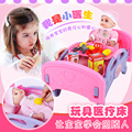 New Arrival  Doctor With A Doll  Toy Set Baby Bed House Simulation Kit Injection Nursing Bed Baby Stethoscope NO original box