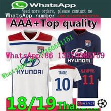 7ce68cb8618 Olympique Lyonnais soccer jersey 2018 19 Lyon Home football shirt BILY  LACAZETTE FEKIR 18-