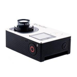"""Image 4 - 4K دقة عدسة 5.4 مللي متر 1/2.3 """"10MP 60 درجة غير تشويه عدسة ل GoPro بطل 3/4 شاومي يي 4K/4K + EKEN H9R SJCAM كاميرا"""