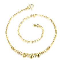 Wholesale New Fashion Women Fine Jewelry Woman Zircon Anklets Bracelet Female Foot Chain YMW-ZD116