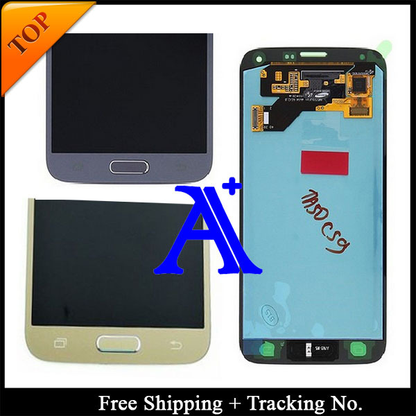 Free Shipping + 100% tested Original  For Samsung Galaxy S5 NEO g903 G903F LCD  Digitizer Assembly   +Sticker - White/ Black