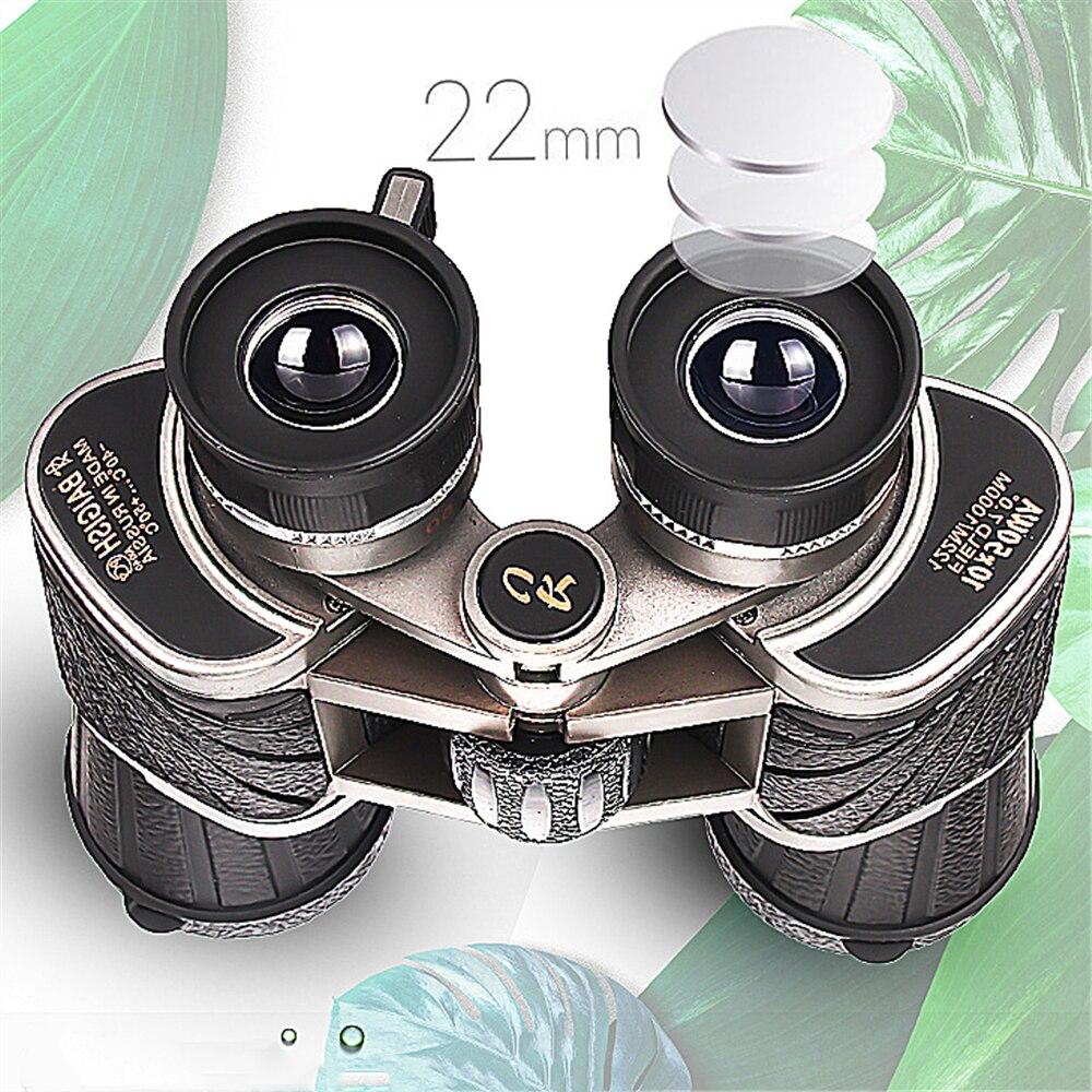 Baigish double cylindre 10x50 télescope binoculaire haute définition vision nocturne non infrarouge
