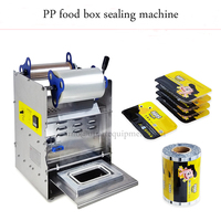 Manuel yiyecek tepsisi Yapıştırma Makinesi