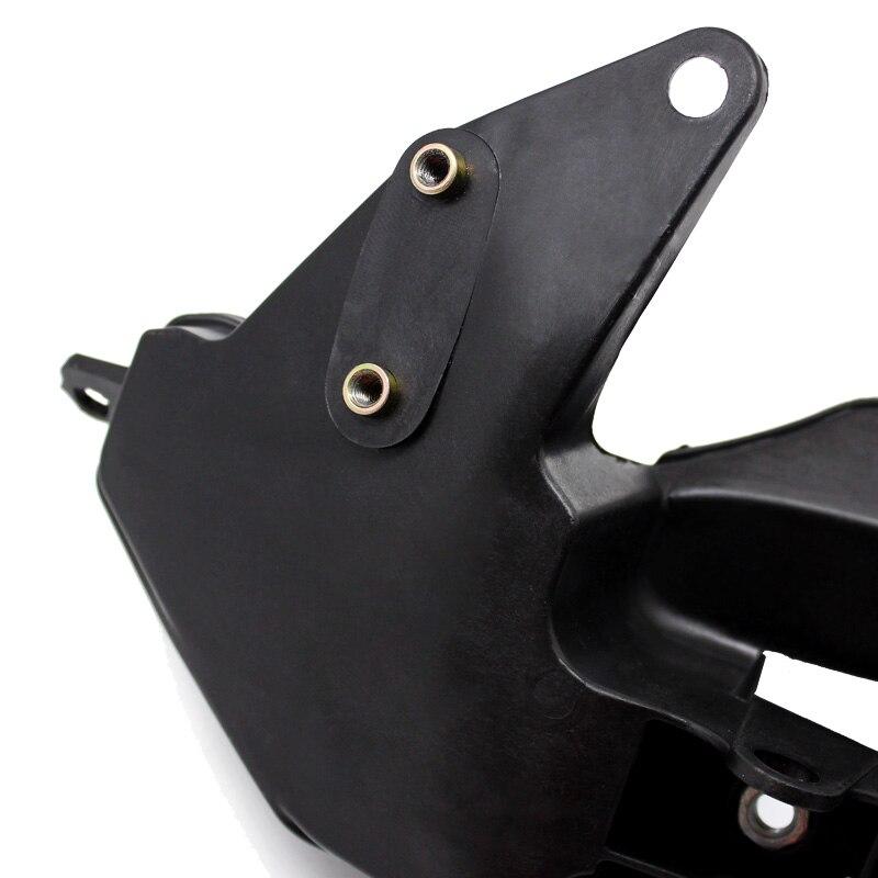 ROAOPP Black Upper Front Headlight Headlamp Bracket Fairing Stay For Honda CBR600RR CBR 600RR 2007-2012 08 09 10 11