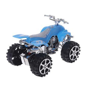 Juguete educativo para niños modelo Motocross de motocicleta de playa de 4 ruedas de simulación de Mini inercia