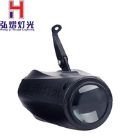 Hongyi Small Airship 64 RGBW Color Changing 10W LED Moonflower Lighting Magic Pattern Stage for Pub Club Party Wedding