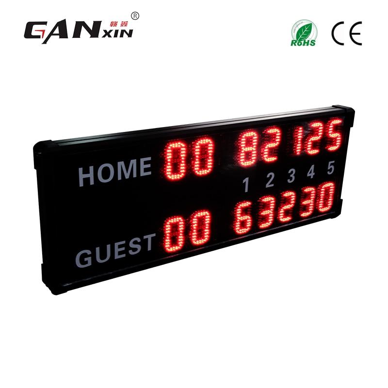 [Ganxin] Big electronic badminton scoreboard led digital table tennis scoreboard
