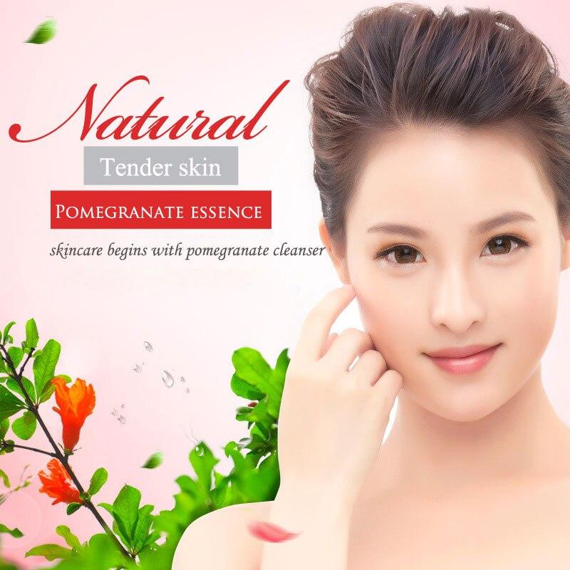 Nuevo Imagrs Rojo granada esencia hierbas dulces loción humectante limpia y refresca a los consumidores limpieza acné limpiador - 3