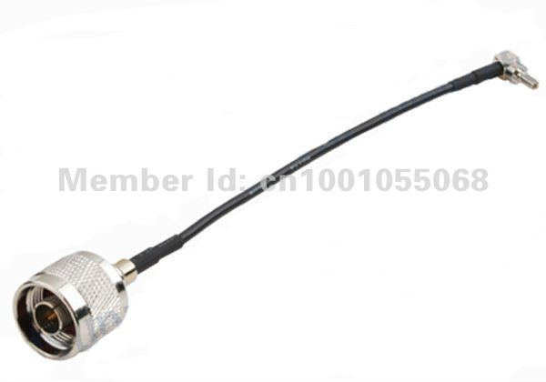 Wholesale lot CRC9 Right Angle to N male HuaWei antenna cable 15cm Free shipping