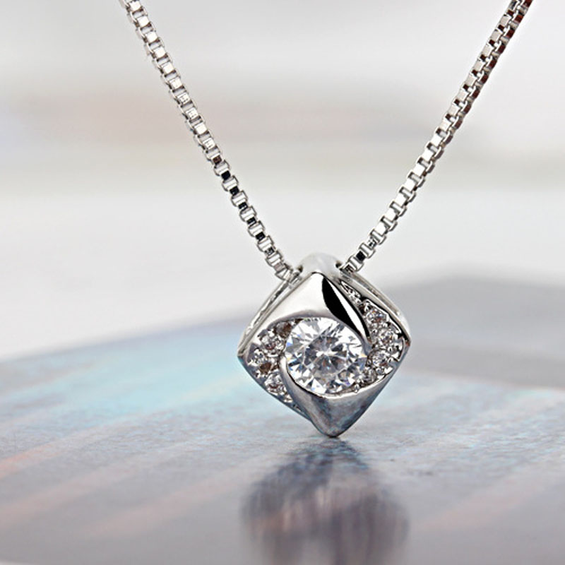 2017 new 925 silver jewelry imitation diamonds noble geometric fine 2017 new 925 silver jewelry imitation diamonds noble geometric fine fashion jewelry girl necklaces pendants for women gsz0108 in pendant necklaces from audiocablefo