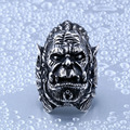 Cool Warcraft Durotan Ring For Man High Quality New Designed Ring Stainless Steel Unique Jewelry Ring Punk Animal Rock BR8-343