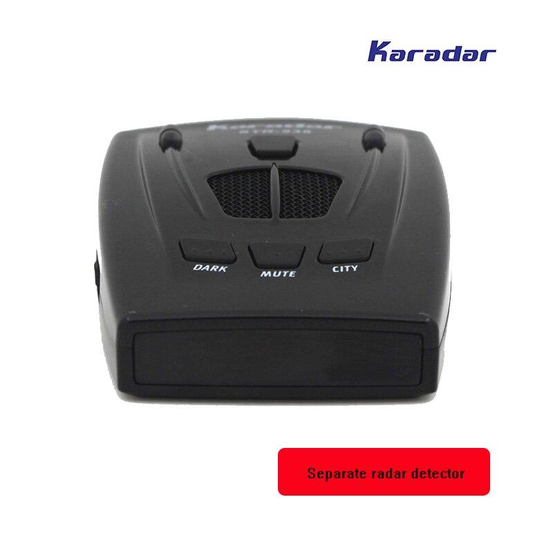 KARADAR voiture radar détecteur STR535 icône affichage X K Laser Strelka Anti Radar détecteur qualité purement mobile caméra détecteur - 5