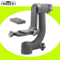 "INSEESI Pro 360 Degree Vertical Panorama Gimbal Tripod Head 1/4""Screw With Quick Release For Camera Telephoto Lens Vs Beik Bk-45"
