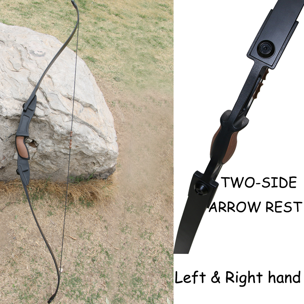 For Right and Left Hand! 56 inch 25lbs Archery Shooting Game CS War bow Outdoor Sports Practice Recurve Takedown Bow Arrow New hellboy giant right hand anung un rama right hand of doom arms hellboy animated cosplay weapon resin collectible model toy w257