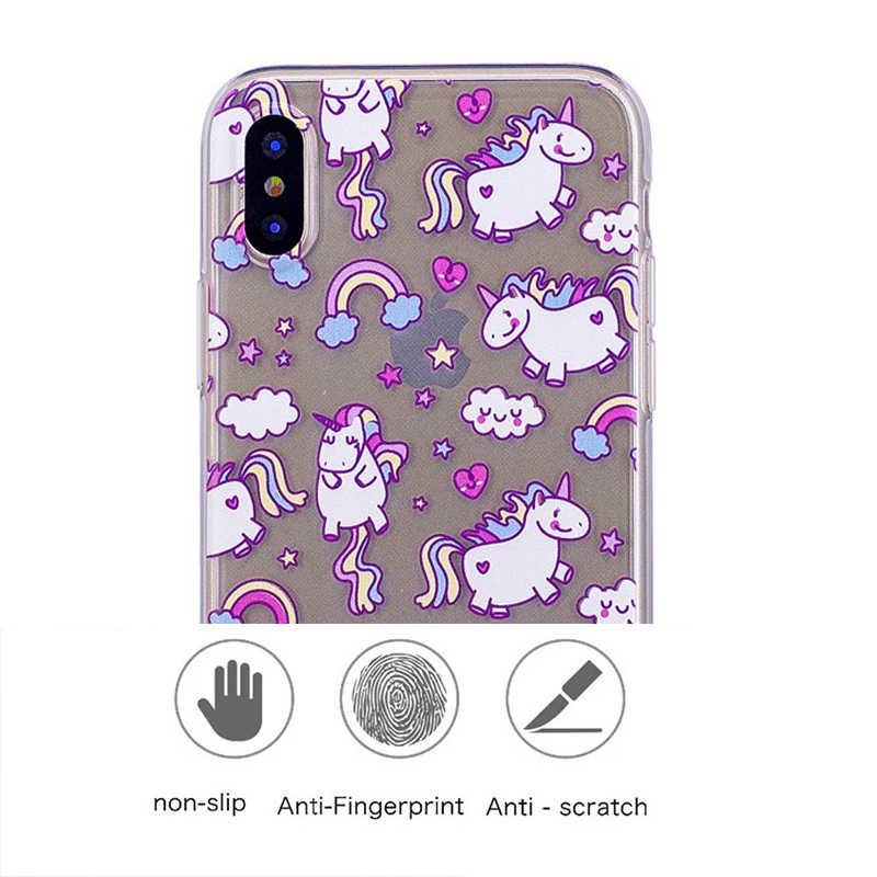 3D น่ารัก Alpaca Tpu เคสโทรศัพท์สำหรับ Xiaomi 8 SE A2 Lite 5X A1 Max2 6 Sony Xperia XA1 E5 LG K4 K8 K10 2017