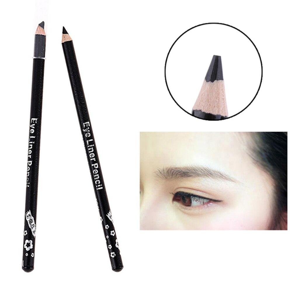 Waterproof Black Smooth Eyeliner Pencil Big Eyes Makeup Long-lasting Eye Liner Pen Make Up Smooth Fast Dry Cat Eye Cosmetic Tool