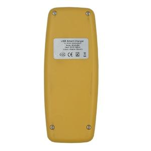 Image 5 - 2 fentes chargeur de batterie USB intelligent pour Rechargeable alcaline AA AAA AAAA 1.5V batterie mini mode jaune chargeur affichage LED