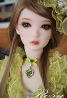 Free shipping! free makeup&eyes included !top quality 1/3 bjd doll Rosy lina ver A green female manikin model toy best gift girl