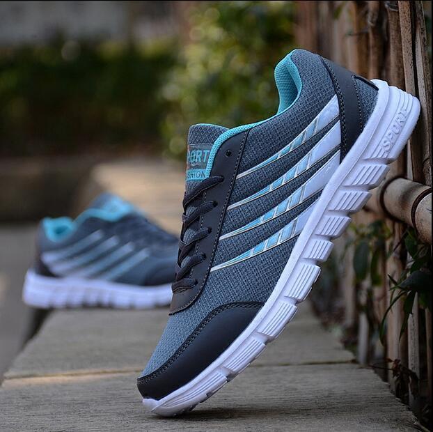 2016 Otoño Caliente Sapato masculino Ligero Hombres Zapatos Zapatos Casuales de Malla Transpirable Zapatos Casuales Para Hombre Adulto