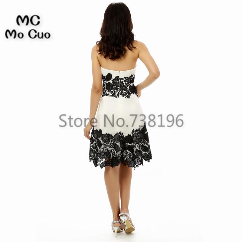 887182d43b2 High Quality 8th grade prom dresses Sweetheart Homecoming Dresses 2017  Black Appliques Sexy Custom Made For Graduation Girls