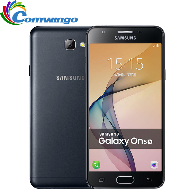 2016 Original Samsung Galaxy On5 G5700 Mobile Phone 4G LTE Android 6.0 32G Octa Core 1280x720 Dual SIM 5.0'' 13MP Cell Phone