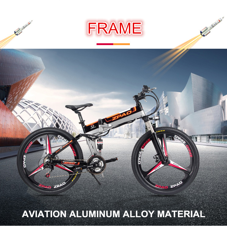 HTB1Ndfah6nD8KJjSspbq6zbEXXaE - 21 Velocity, 26 inches, 48V/15A, 350W, Folding Electrical Bicycle, Mountain Bike, Lithium Battery, Aluminum Alloy Body, Disc Brake.