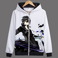 Anime Sword Art Online Hoodies Jackets Coats Sword Art Online Hooded Sweatshirts Autumn Winter coat