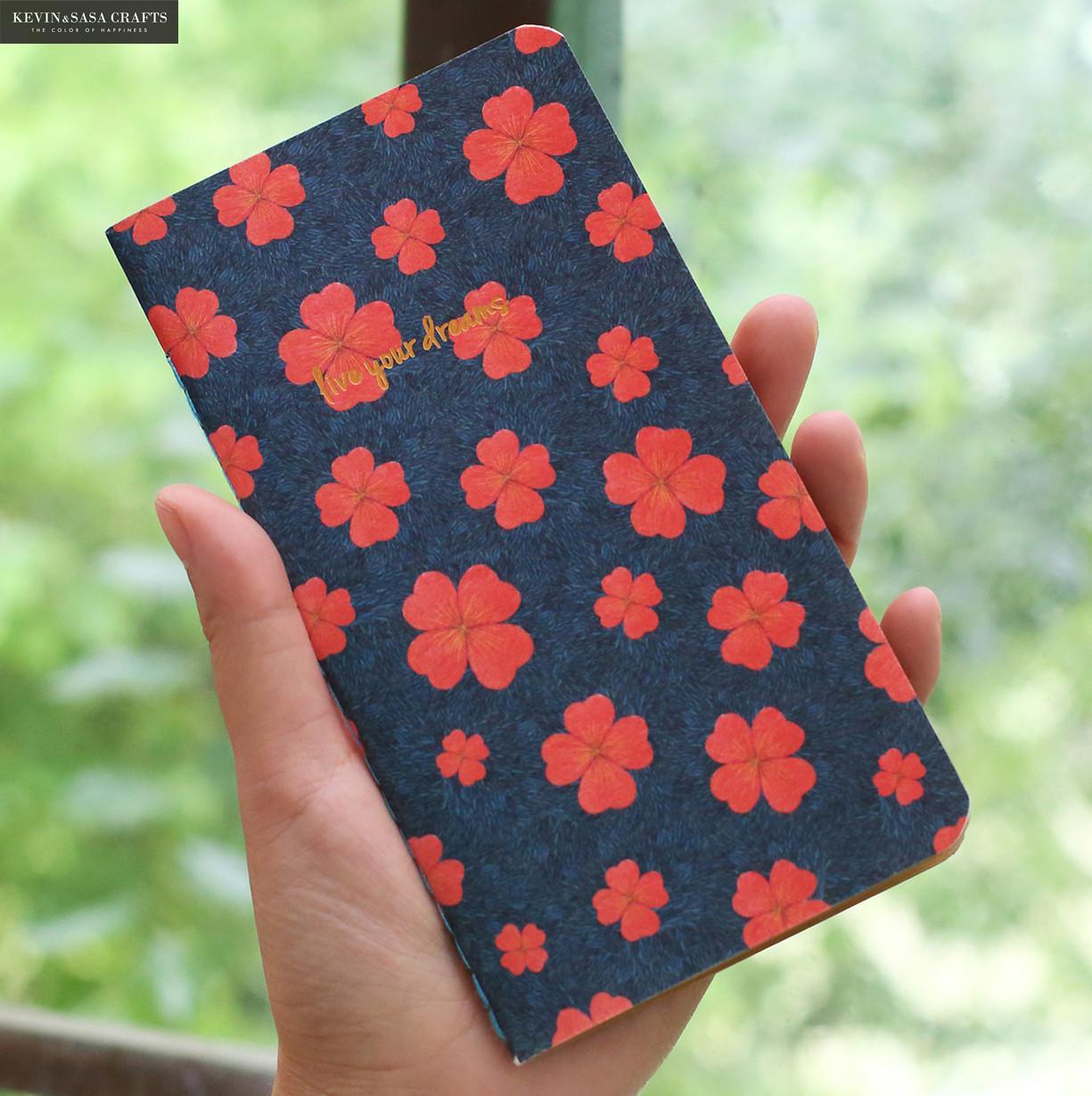 Notebook Flower Luxury Blank Inner 28 Sheets 2017 Planner Sketchbook Diary Note Book Kawaii Journal Stationery School Supplies