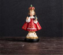 7*5*13cm resin Female mannequin Pope Cardinal Member Christian Catholic Believers Small Gifts home decoration Process 1pc A398