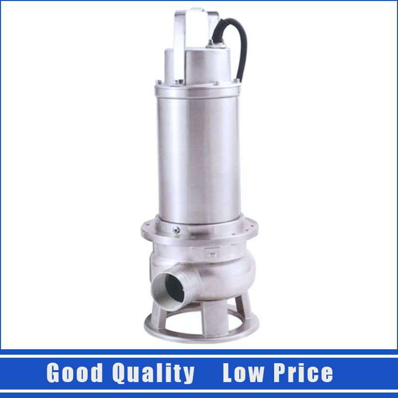 WQ15-7-1.1 Stainless Steel Submersible Pump Basement Water Pumping Machine 220V 1.1KW Sewage Water Pump water cooler tap water dispenser parts 304 stainless steel wireless electric bottled water pumping unit mineral water pump
