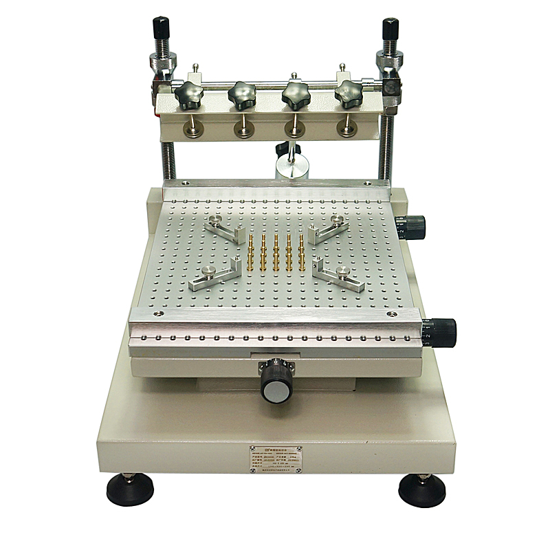Chip di Riparazione ZB3040H Pasta Saldante Manuale Della Stampante Serigrafia Stampante Rosso Colla Macchina da Stampa.