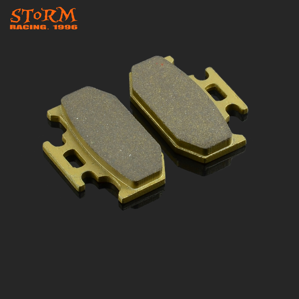 Motorcycle Rear Brake Pads For YAMAHA <font><b>DT</b></font> YZ TT XTZ XG WR 125 200 230 250 400 <font><b>500</b></font> 600 DT125 YZ250 XG250 YZ125 DT200 XT225 image
