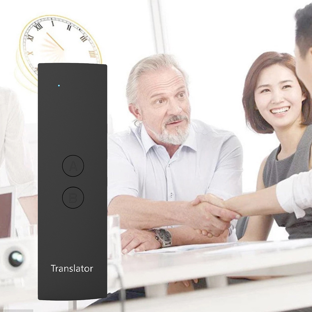 Simultaneous Bluetooth Wireless Fast Multi-language Learning Voice Translator Meeting Business Real Time Smart Travel PortableSimultaneous Bluetooth Wireless Fast Multi-language Learning Voice Translator Meeting Business Real Time Smart Travel Portable