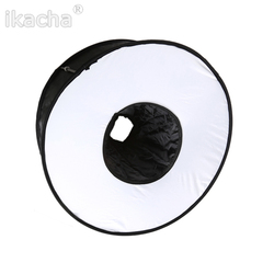 New Universal 18 Annular Flash Soft Box Diffuser EZ-fold Macro Ring Reflector For Canon For Nikon For Pentax For Olympus Camera