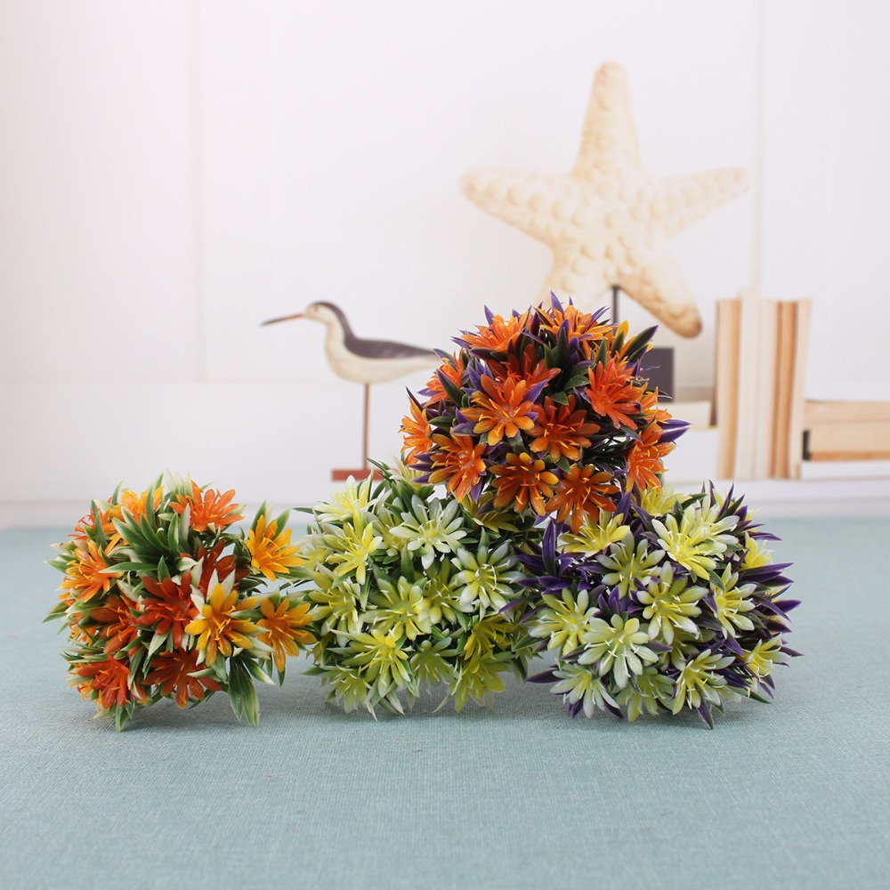 Aliexpress buy 1 bundle stamen artificial flowers cheap aliexpress buy 1 bundle stamen artificial flowers cheap simulation grass leaf diy plastic flower for wedding home party garden decorative from izmirmasajfo