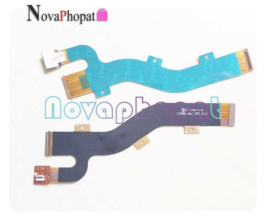 Novaphopat لينوفو tab3 8 plus شاشة الكريستال السائل شاشة ربط اللوحة الرئيسية PCB LCD موصل الكابلات المرنة المسار